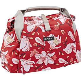 Basil Magnolia City Handlebar Bag 7L, poppy red